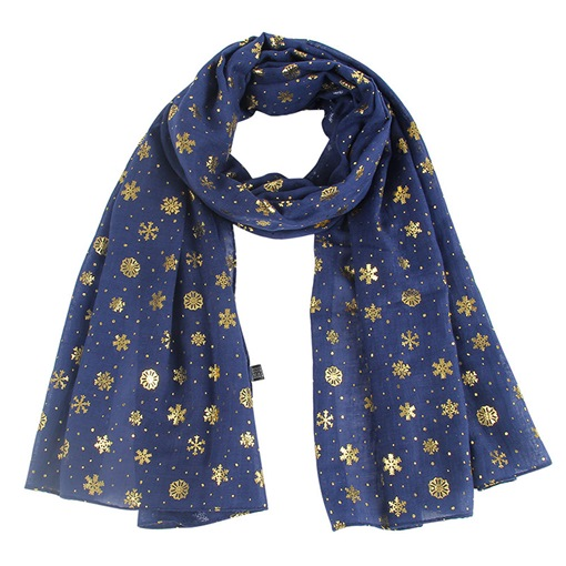 Polyester Geometric Scarfs Christmas Decoration Supplies