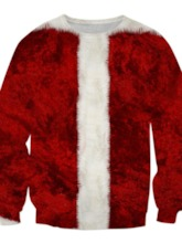 Christmas Pullover Print European Men's Hoodies