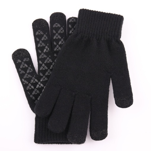 Simple Color Block Fall Gloves