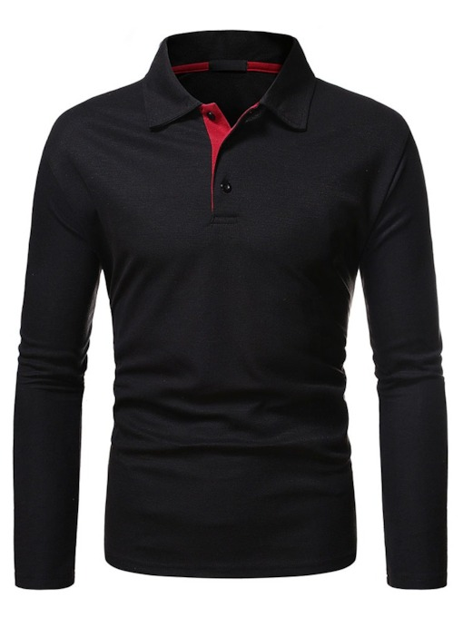 Polo Neck OL Button Men's Polo Shirt