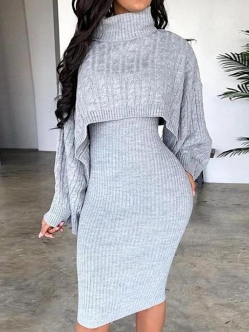 Sleeveless Patchwork Knee-Length Pullover Women's Dress