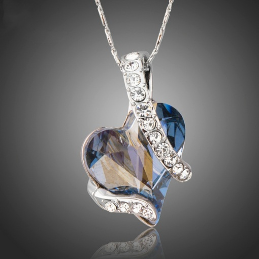 Heart-Shaped E-Plating Romantic Female Necklaces