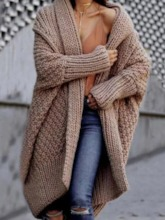 Thin Patchwork Loose Women's Sweater