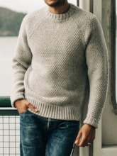 Plain Standard England Men's Sweater