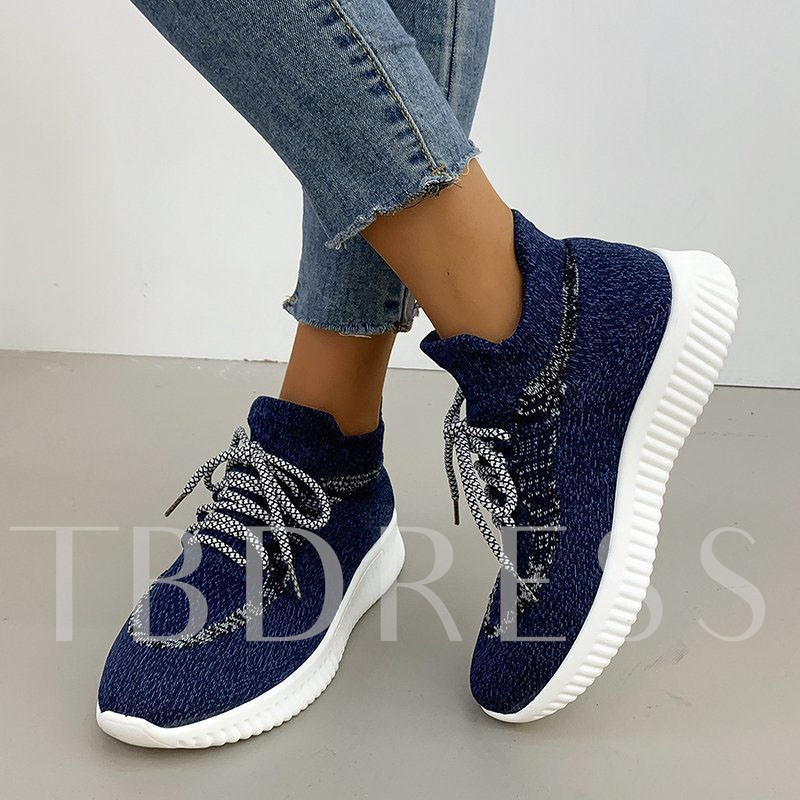Round Toe Slip-On Outdoor Casual Sneakers