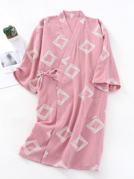 Lace-Up Casual Women's Night-Robes