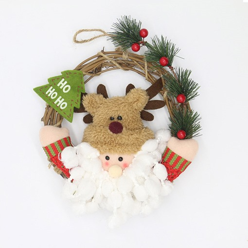 Cute Cartoon Christmas Decoration Supplies