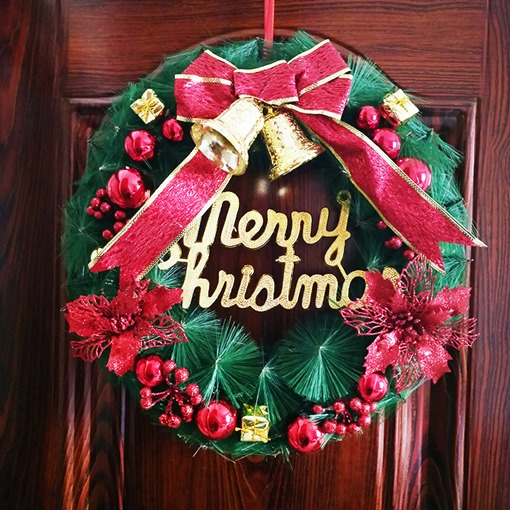 Letter Plastic Christmas Decoration Supplies