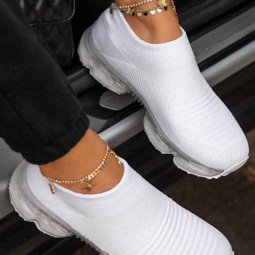 Low-Cut-Slip-On-Sneakers mit rundem Zeh