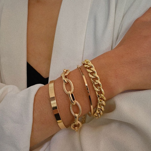 Korean Geometric Female Bracelets
