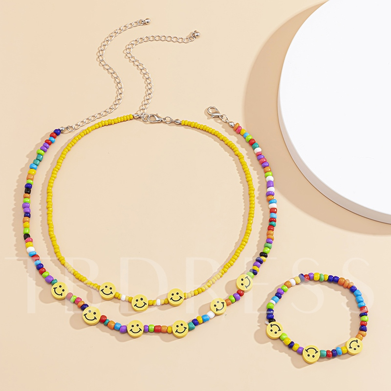 Geometric Sweet Bracelet Birthday Jewelry Sets