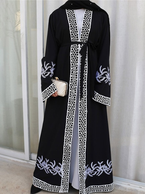Lace Long Fall Women's Trench Coat