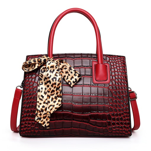Alligator Fashion Embossing Tote Bags