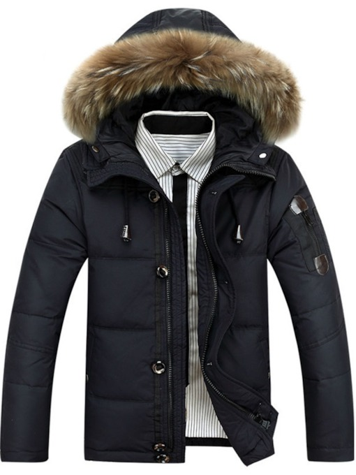 Standard Thick Casual Men's Down Jacket