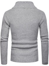 Standard Lapel Fall Men's Sweater