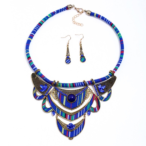 Geometric Ethnic Earrings Gift Jewelry Sets