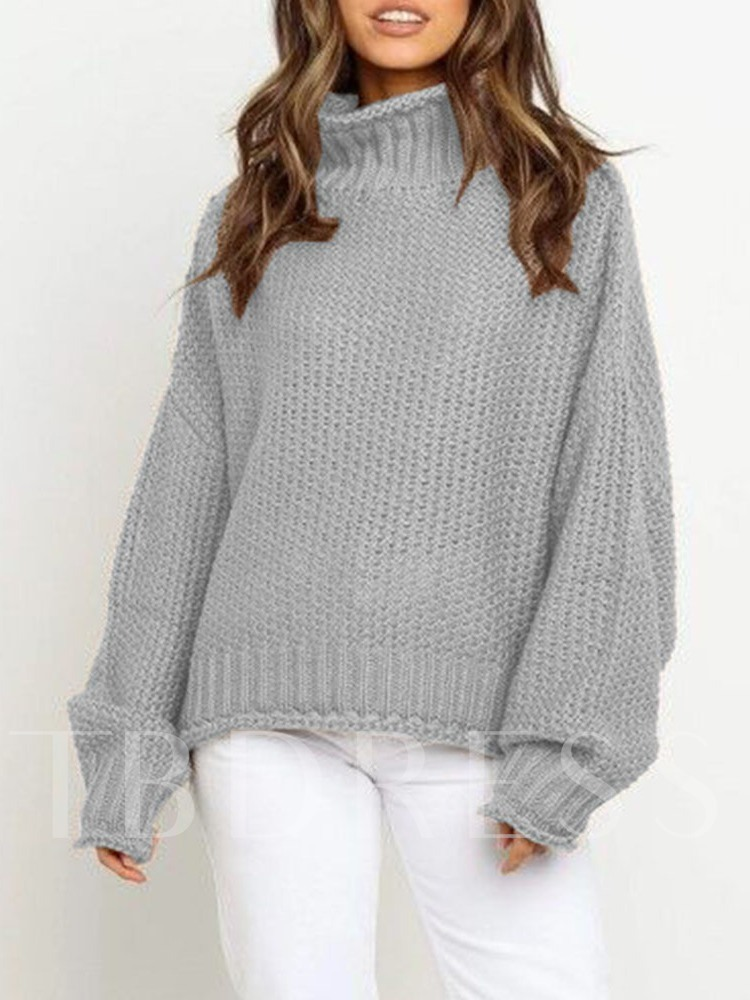 Thick Patchwork Standard Women's Sweater