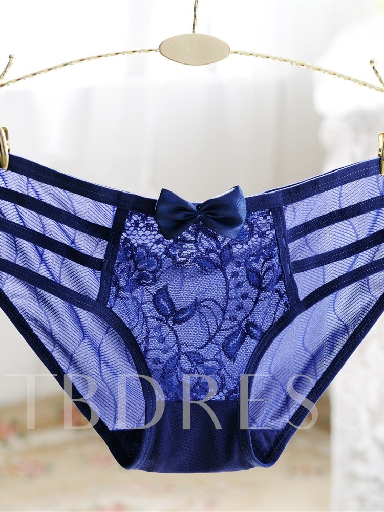 Plant Briefs Side Hollow Panties