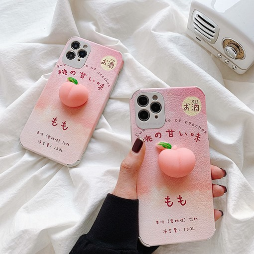 Apple Phone Decorated Silicon Case Mobile Phone Covers