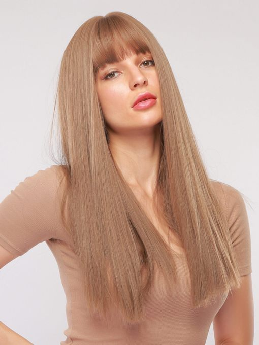 Capless Straight 130% 24 Inches Wigs