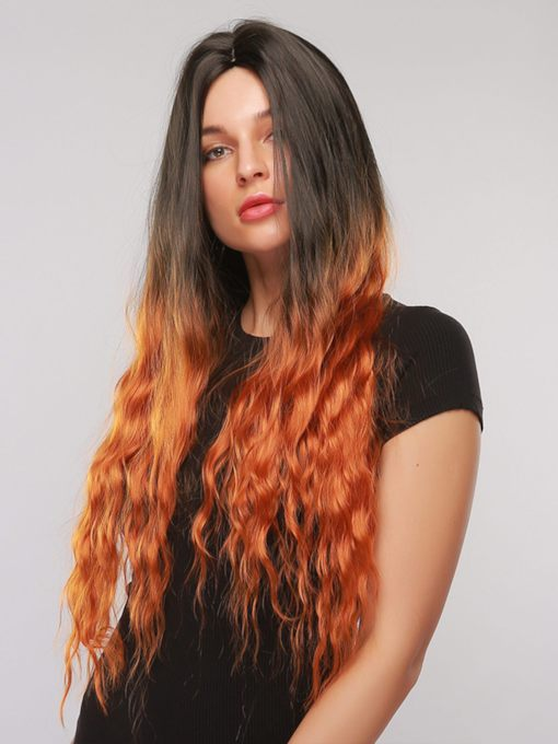 Water Wave Synthetic Hair 130% 32 Inches Wigs