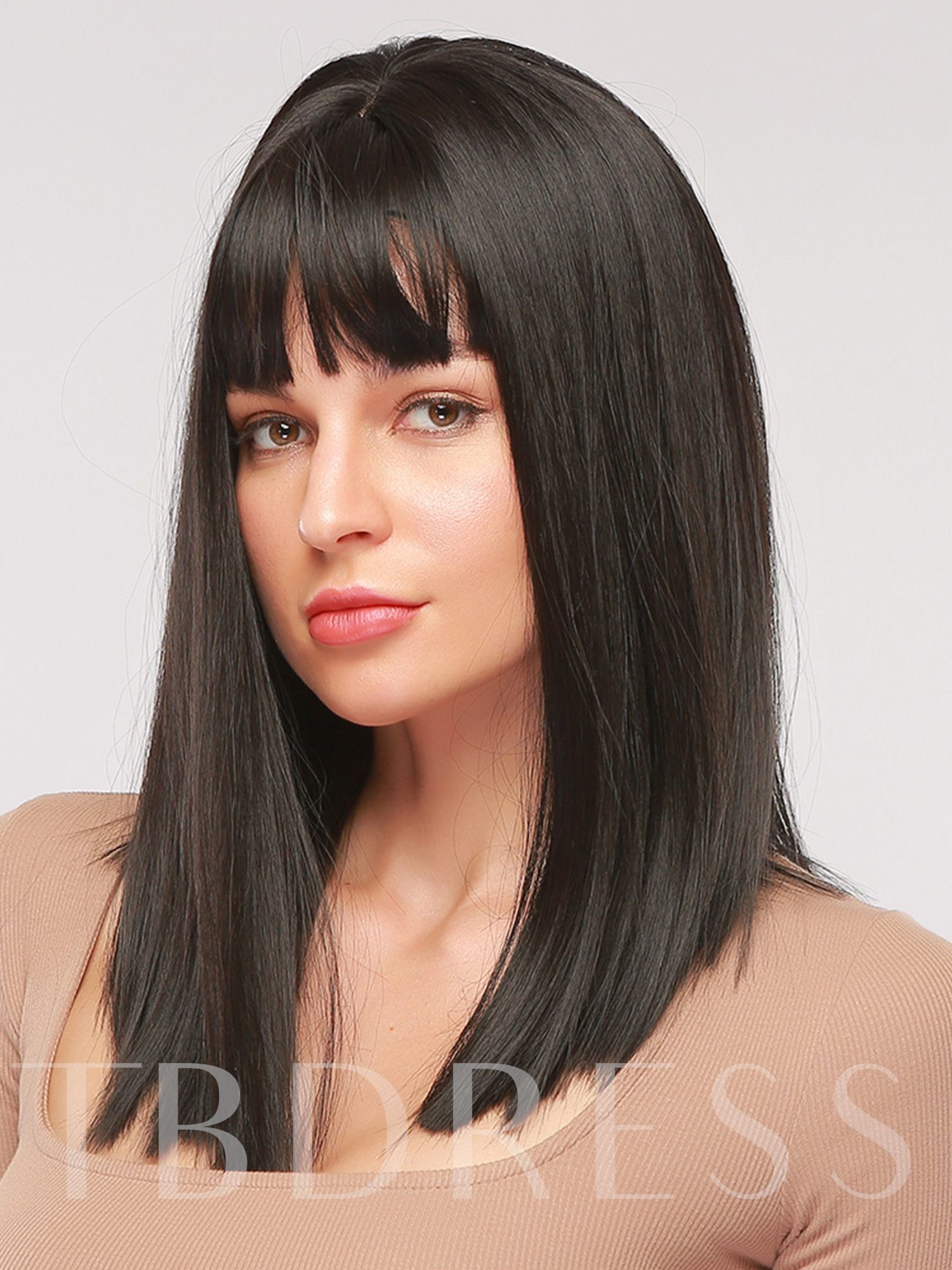 Women Straight 16 Inches 130% Wigs