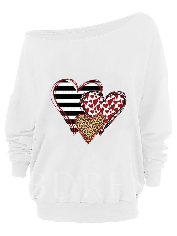 Color Block Regular Print Long Sleeve Women's Hoodie
