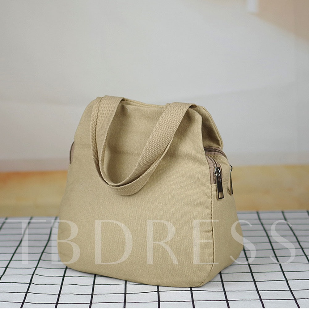 Floral Embroidery Tote Bags