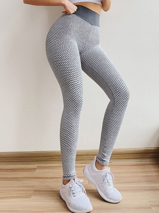 Solid Yoga Female Ankle Length Pants