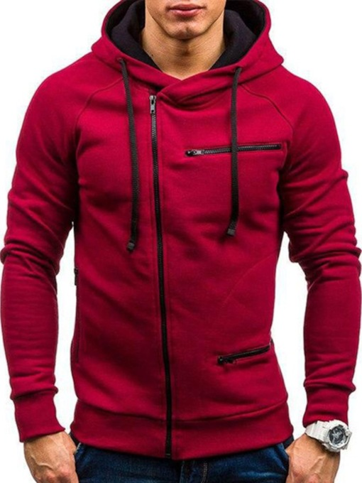 Zipper Cardigan Casual Men's Hoodies