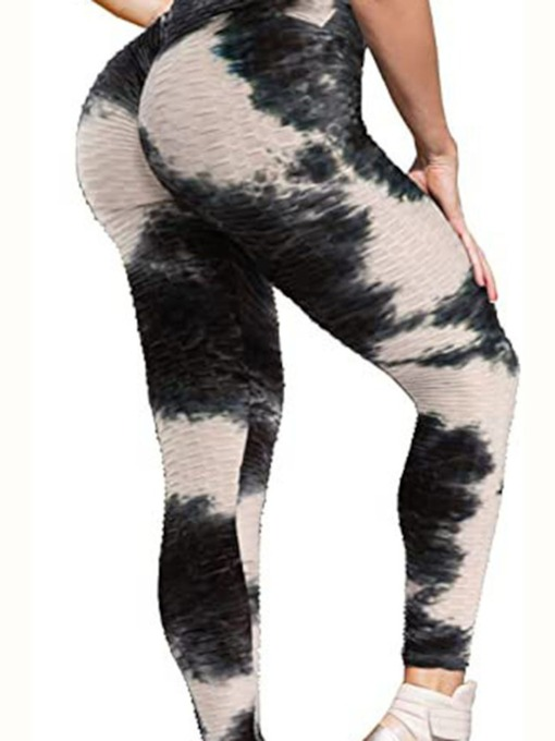 High Waisted Polyester Breathable Ankle Length Women's Tiktok Leggings