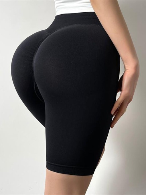 Anti-Sweat High Waisted Knee Length Pants Tiktok Leggings