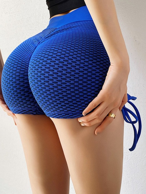 Nylon Solid Anti-Sweat Yoga Sports Shorts Tiktok Leggings