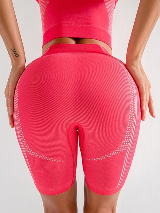 Breathable Nylon Yoga Sports Shorts High Waisted Tiktok Leggings