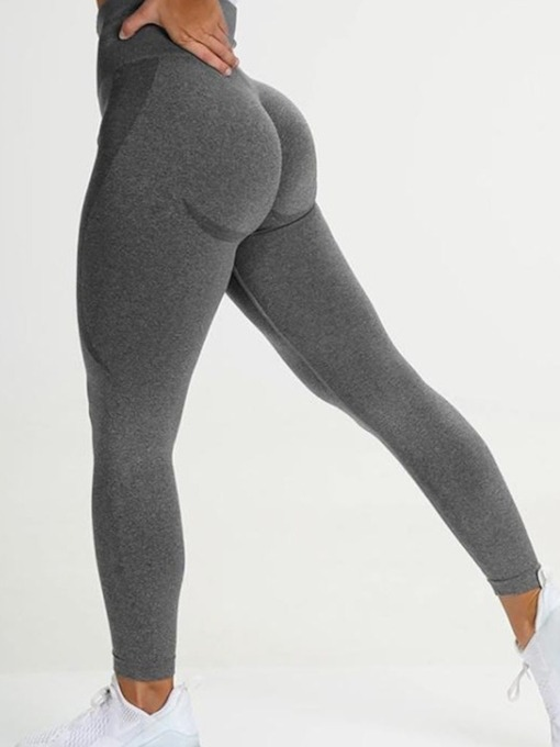 Breathable High Waisted Nylon Yoga Sports Pants Tiktok Leggings