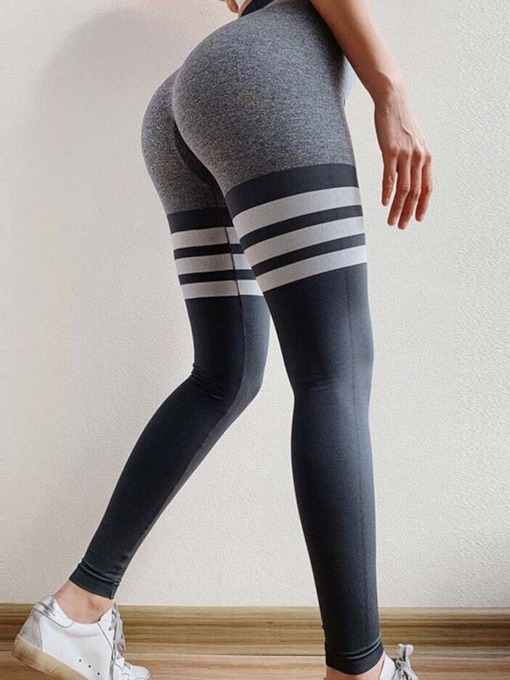 Nylon Breathable High Waisted Yoga Sports Pants Tiktok Leggings