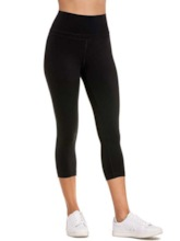 Breathable Solid Patchwork Female Mid-Calf Running Pants