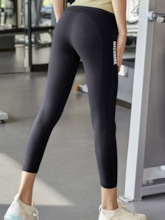 Solid Breathable Female Volleyball Four Seasons Pants