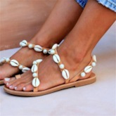 Thong Flat With Slip-On Plain Sandals