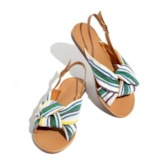 Buckle Open Toe Flat With Buckle Sandals