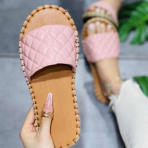 Flip Flop Slip-On Candy Color Flat With Casual Slippers