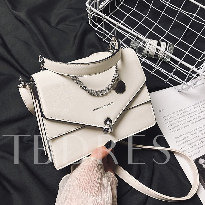 Korean Letter Candy Color Crossbody Bags