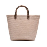 Knitted Plain Tote Women Bags