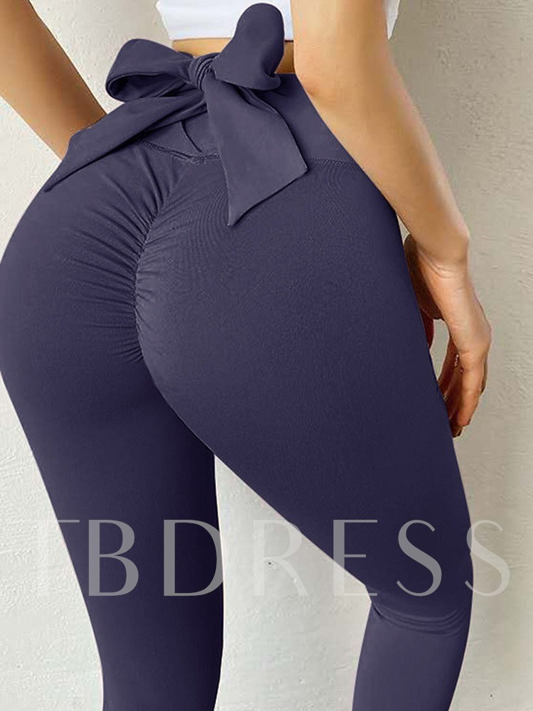 Plus Size Polyester Solid Summer Female Ankle Length Pants
