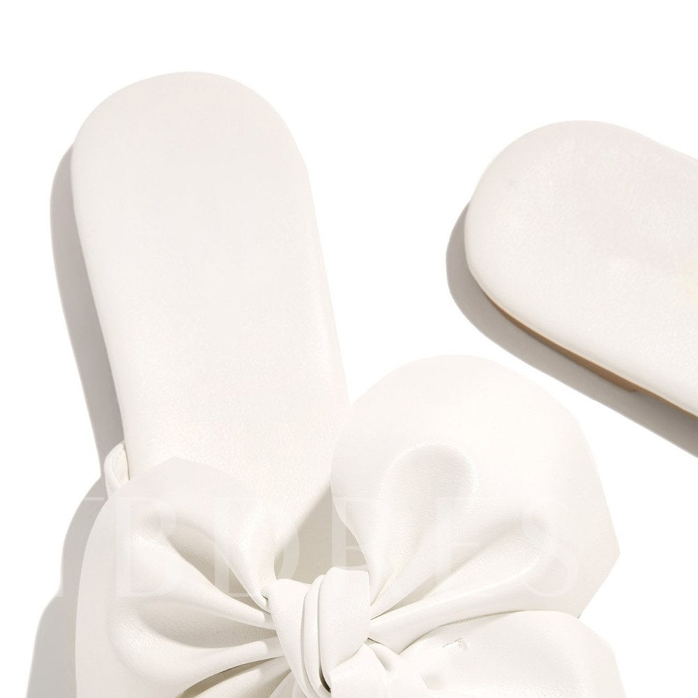 Flat With Thread Slip-On Flip Flop Casual Slippers