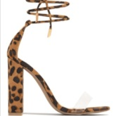 Open Toe Lace-Up Chunky Heel Heel Covering Professional Sandals