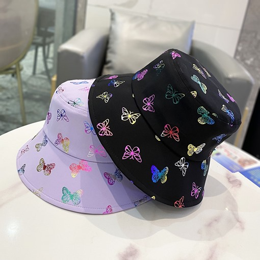 Bucket Hat Print Casual Spring Hats