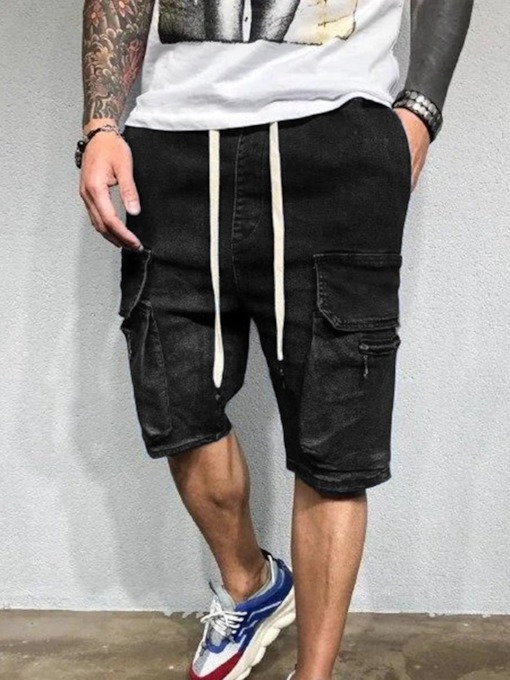 Casual Pocket Straight Summer Men's Casual Pants