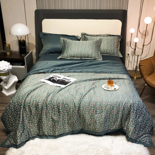Dry Cleaning Comforter Set Reactive Printing Cotton Bedding Sets