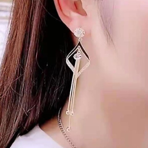 E-Plating Alloy Party Earrings
